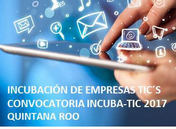 convocatoria Incubatics 2017