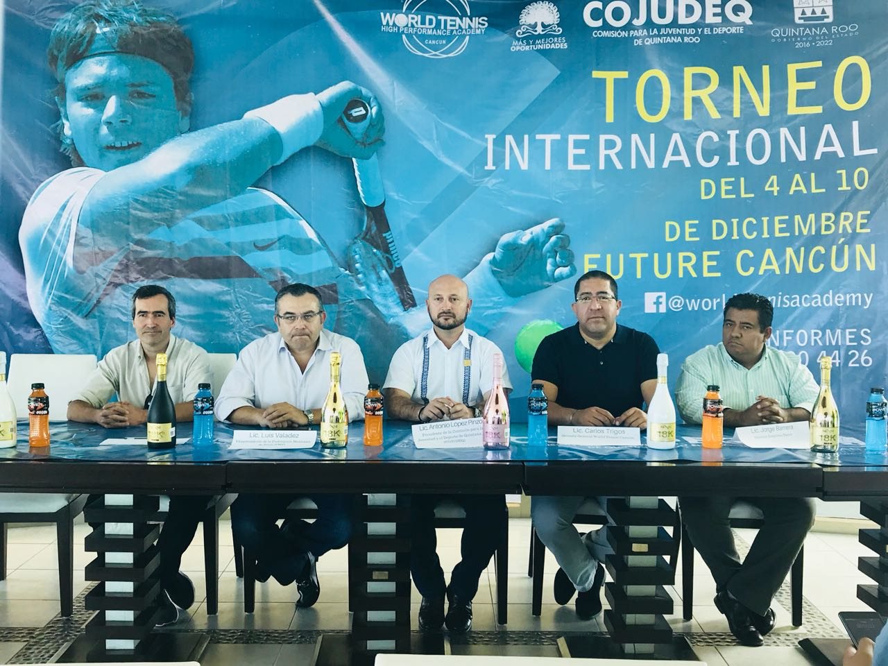 "Torneo de tenis international ""Future Cancún"""
