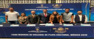 "Se realiza la presentación del ""FIVB Beach Volleyball World Tour – 4 stars"""