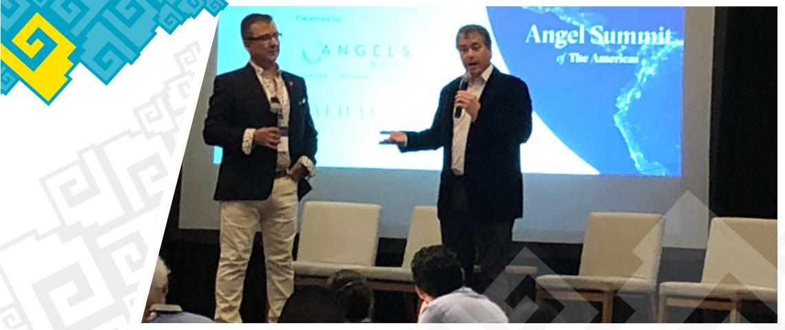 """Angel Summit Of The Americas"" y ""Pitch at the Beach"""